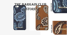 Michael Kors iPhone Case 6/6S Case Admiral Blue Snap On Case