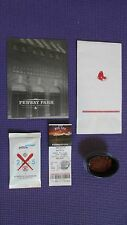 Boston Red Sox Fenway Park Real Field Dirt, Ticket Stub & More!