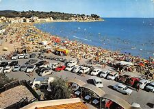 BT8838 La plage des sablettes vue de la tour de l hotel car voiture      France