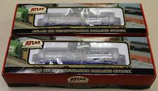 Pair Atlas ACF Kaolin Tank Cars Cyprus ACFX #1713-1 & #1713-2 New Old Stock NIB