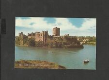 J Salmon Vintage Colour Postcard Pembroke Castle from the River posted