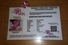 NICE Certified 11.50ct Pink Oval Cut Natural Translucent Kunzite Brazil with COA