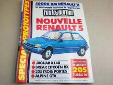 L AUTO JOURNAL - N° 7  - ANNEE  1984  *