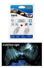 Linternas de color principal blanco LED para acampada y senderismo