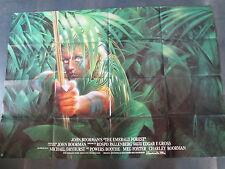 DER SMARAGDWALD - Filmplakat A0 quer - John Boorman - Powers Boothe, Meg Foster