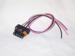 O2 Sensor Connector Pigtail 4 Way Flat GM Vehicles LS1 LT1 PT-O23-A