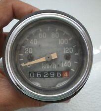 Vintage Soviet Motorcycle Bike Speedometer Odometer Gauge 0 - 140 km/h Working