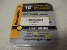"""NEW OEM Poulan Pro 18"""" Chainsaw Chain 581562301 3/8 .050 62DL 952051338 Yellow"""