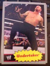 2012 Topps WWE Wrestling Heritage #42 Undertaker SILVER Parallel SP