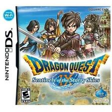 Dragon Quest Ix: Sentinels Of The Starry Skies Nintendo DS COMPLETE CIB