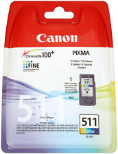 Canon CL-511 Colour Ink Pixma MP280 MP282 MP330 MP480 MP490 MP492 MP495 MP499
