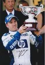 NICK HEIDFELD Signed Autograph Race Winner F1 12x8 Photo AFTAL COA In Person