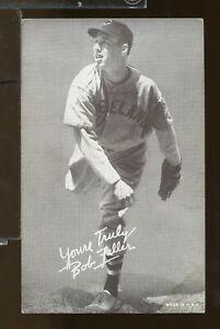 1939-46 Salutation Exhibit BOB FELLER Cleveland Indians (LY2)
