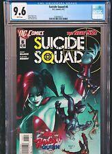 Suicide Squad 6 CGC 9.6 1st Print New 52 Harley Quinn Origin