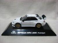SUBARU IMPREZA WRC 2006 Prototype White 1:64 CM's Rally Car Special Color Ver.