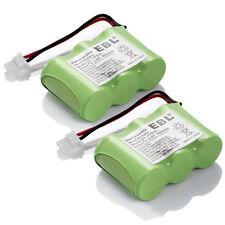 2 Pack 3.6V 600mAh Replacement Vtech BT-17333 BT-27333 CS2111 Home Phone Battery