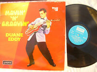 DUANE EDDY LP MOVIN' N GROOVIN' London 105..... 33 rpm