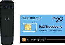 H2O Broadband No-Contract Mobile Hotspot with International Roaming