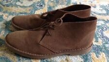 J Crew Brown Suede Leather Chukka Ankle Boots MENS 11.5