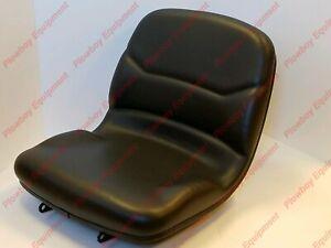 Tractor Black Vinyl Seat for John Deere 670 770 790 990 3005 4005 M805158