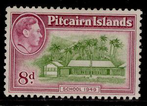 PITCAIRN ISLANDS GVI SG6a, 8d olive-green & magenta, M MINT. Cat £24.