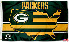 Packers FLAG 3X5 Green Bay Banner American Football New Fast USA Shipping Modern
