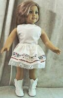 """Doll Clothes Made 2 Fit American Girl 18"""" in 2pc Set Skirt Blouse Music Lace"""