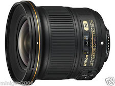 NEW NIKON AF-S NIKKOR 20mm f/1.8G ED 20 mm f1.8G Single-Focal Length Lens*Offer