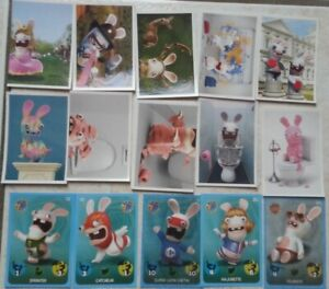 cartes lapins crétins carrefour