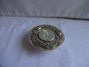 Vintage Silver Plate Tea Light Holder Made in Wales