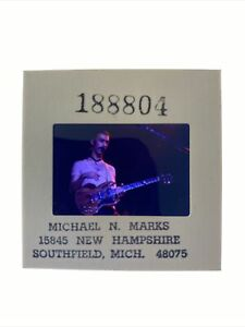 Frank Zappa  Concert Guitar Original Transparency 35mm Slide