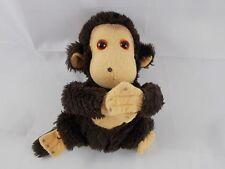 "Russ Monkey Ape Plush Shy Guy 7.5"" 1979 Nutshells"