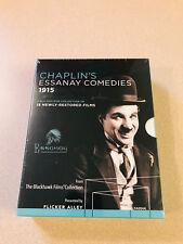 Chaplins Essanay Comedies 1915 Blu-Ray Box Sealed New 15 Restored Films Oop