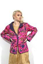 Pink and Purple Printed Bohemian Jacket