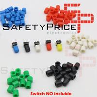 5x Tapon A56 tapa Pulsador Tactil Micro interruptor 6*6 DE 5 COLORES