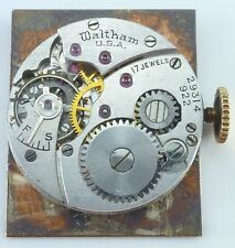 Waltham Wristwatch Movement - Grade 887, Model L - 8.75  - Parts / Repair
