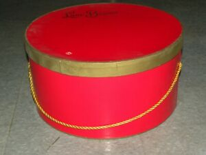 Vintage LANE BRYANT Hat Box With 5  Women's Hats