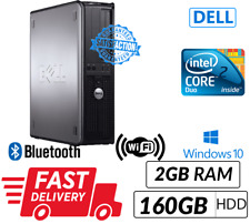 Cheap Student Computer/PC Core 2 Duo Fast&Free Delivery WIFI Ready DVD Win10 Pro