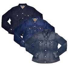 Levis Jacket Jean Womens Denim Trucker Button Up Strauss S M L Xl Red Tab New