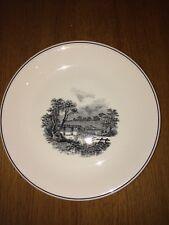 Assiette décorative Boch en porcelaine