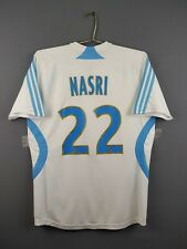 Nasri Olympique Marseille shirt kids XL adult S 2007 2008 home Adidas ig93