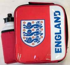 England Football Team Lunch Bag/Box and 600ml Bottle Set   Three Lions Lunchbox
