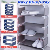 Shoe Rack Organizer Shoes Storage Shelf Multi Functional  Over The Door Space AU