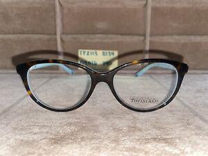 Tiffany & Co Brown/Blue Eyeglasses TF2113 8134 5416 140 No Case
