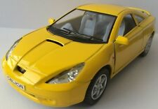 "1/34 Toyota Celica Diecast Metal Model Car 5"" Kinsmart Collectible YELLOW New"