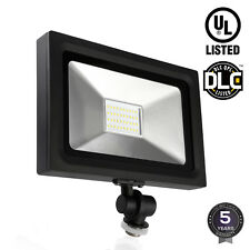 LED Outdoor Flood Light, 30W(120W Equiv), 3000lm, 5000K Daylight IP65 Waterproof