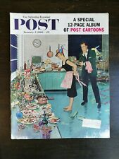 The Saturday Evening Post January 12, 1960 - Post Cartoons - Ben Prins Cover C2