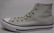 Converse Size 12 White Leather Hi Tops All Star Sneakers New Mens Shoes