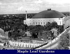 NHL 1930's Toronto Maple Leafs Maple Leaf Gardens  8 X 10 Photo Pic Free Shippin