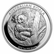 Nuevo 2013 australiano Plata Koala 1 OZ (approx. 28.35 g) plata moneda del lingote (encapsulada por Mint)